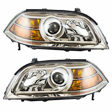 Headlights Headlamps Pair Set Left & Right New For Acura Mdx 04-06