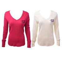 Harley-Davidson Women's V-Neck L/S Sweater (Retail $40)