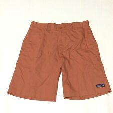 "Patagonia Mens Century Pink Lightweight All Wear Hemp 10"" Shorts Size 32"