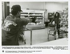 THERESA SALDANA IN GROCERY STORE THE COMMISH ORIGINAL 1992 ABC TV PHOTO