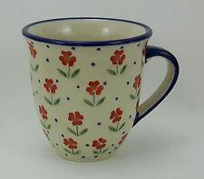 Bunzlauer Keramik Tasse MARS Maxi - Becher - Blumen - 0,43 Liter, (K106-AC61)