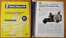 Fascicule Michelin, collection officielle, Altaya, n°35, Renault KZ7 surélevée