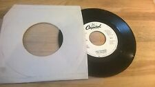 """7"""" Pop Joe Cocker - Two Wrongs (2 Song) CAPITOL REC / USA - disc only -"""