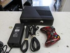 Microsoft Xbox 360 (1439) Black Slim Console  (Lot 14666)