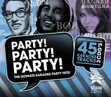 More details for sing to the world karaoke party! decades - 3 cd+g discs (45 tracks)
