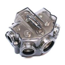 Multi Port Ground Distribution Block 0 2 4 8 Gauge Car Amp Install Power Battery