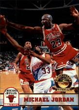 1993-94 Hoops Fifth Anniversary Gold #28 Michael Jordan