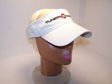 TUNERS CHOICE Sport Visor Hat Biege Adjustable One Size Fits Most Racing NEW