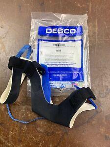 DESCO 17291 Premium Full Coverage Foot Grounder, 2 Meg Resistor Medium GROUND VY