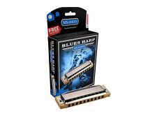 HOHNER BLUES ARPA nella chiave di C arriva in un caso Plus in una scatola regalo SERIE MS