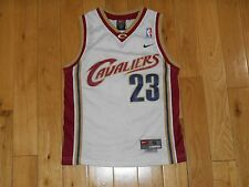 Vintage Nike LEBRON JAMES CLEVELAND CAVALIERS Youth NBA Swingman Team JERSEY Sm