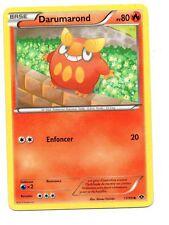 Pokemon  n° 17/99 - DARUMAROND - PV80  (7491)