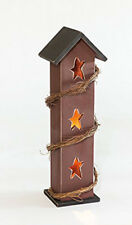 Primitive Rustic Country Luminary House - Amish Made in the USA