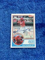 Victor Robles 2018 Topps 35th Anniversary 1983 Topps Auto RC SP Mint