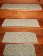 15 Step  9'' x 26''  + 1 Landing  26'' x 53'' Stair treads Wool Tufted carpet  .