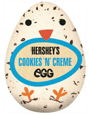 Full Box of 48 Hershey's Cookies 'N' Cream Eggs 34g Free Tracked Delivery