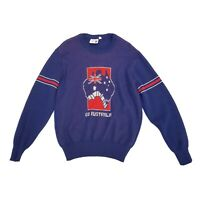 Vintage Womens Go Australia Pure Wool Knit Jumper Size 18