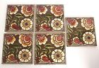 Craven Dunnill Antique Pottery Tiles Arts Crafts Aesthetic Movement Jackfield