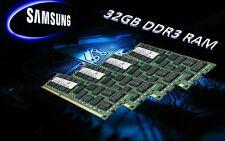 RAM 32GB DDR3 240Pin DIMM Samsung 4x M393B1K70CH0-CH9