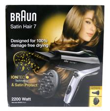 Braun Satin Hair 7 Haartrockner HD 730, mit IonTec, Stylingdüse und Diffusor OVP
