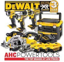 DEWALT DCK550M3T 18v XR 5pc Cordless Kit (3 x 4.0Ah) 2 x T-Stack Cases