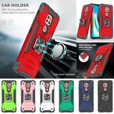 For Motorola Moto G9 Play G8Power Lite Case Hybrid Hard Ring Holder Stand Cover