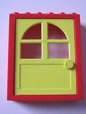 LEGO 6235c02 @@ Door Frame 2x6x6 Freestyle Yellow Door 1x6x6 4117 4213 9303