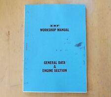 Erf.b series.maintenance manual.general dati e motore section.tsp.98.