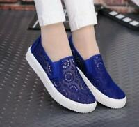 Women Flats Mesh Breathable Loafer Shoes Casual Comfort Sneaker Sport Hot Zsell