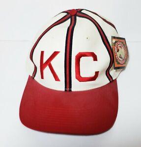 KC MONARCHS ADJUSTABLE HAT - NEGRO LEAGUE BASEBALL MUSEUM - 100% COTTON