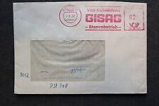 DDR Firmen Stempel - VEB Kombinat GISAG Stammbetrieb Leipzig - Brief /S4