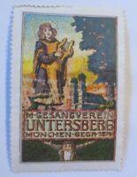 Vignetten München-Sega  M-Untersberg 1910 ♥ (38452)