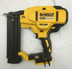 DEWALT DCN680  20V MAX Li-Ion XR 18 GA Cordless Brad Nailer Naiul Gun, P WORKS