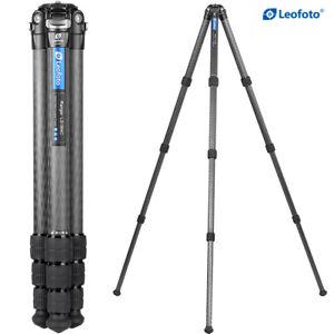 Open, Leofoto LS-364C Tripod Carbon Fiber Professional Camera Tripod with bag