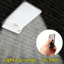 48LED Solar Powered PIR Motion Sensor Light Outdoor Waterproof Security Lamp