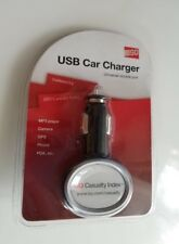 Usb car charger for mp3 players, camera, Gps, phone, Pda, etc