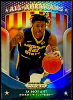 🔥 2019-20 Prizm Draft Picks JA MORANT RC SP SILVER REFRACTOR All Americans #44