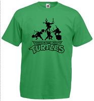 TEENAGE MUTANT CROSSFIT TURTLES parody T-shirt - Male & Female - Rogue Reebok