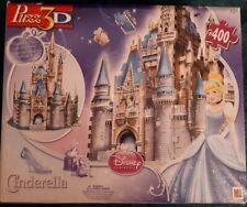 Disney Cinderella 3D Puzzle ,400 numbered pieces in factory sealed bag