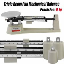 Triple Beam Mechanical Balance Scale 0.1g Weight Lab Business Home MB-2610 HM