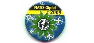 Sammelauflösung !! Polizei Button kein Pin GdP NATO Gipfel 2009