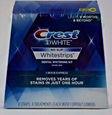 CREST 3D 1 HOUR EXPRESS Whitestrips White Strips Stripes Teeth Whitening KIT NEW