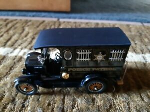 Danbury Mint 1920's Ford Model T Paddy Wagon Die Cast Police Truck 1:24
