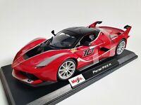 MAISTO 1:18 Scale Diecast Model Car Ferrari FXX K in Red
