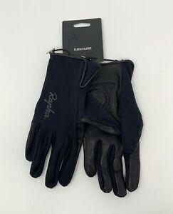 Rapha Classic Full Finger Gloves Black Size Medium New