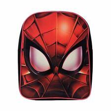 Marvel Spider-Man Mask Small Backpack School Bag - Childrens Boys Avengers