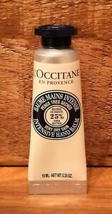 L'OCCITANE Intensive Hand Balm 10ml Travel Size 25% Shea Butter for dry skin NEW