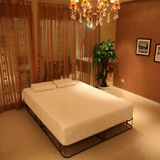 """12"""" in Queen Size Cool Medium-Firm Memory Foam Mattress Bed with 2 Pillows White"""
