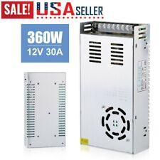 Ac 100v 240v To Dc 12v 30a Switch Power Supply Driver Adapter 360w Led Light