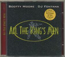 ALL THE KING'S MEN  Scotty Moore DJ Fontana Keith Richards Jeff Beck Ron Wood CD